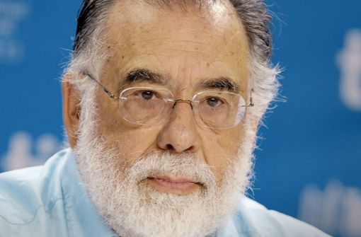 Francis Ford Coppola dreht weiter. Foto: dpa