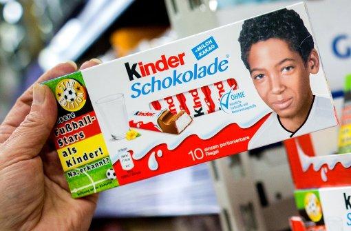 Mineralöl in Kinderschokolade