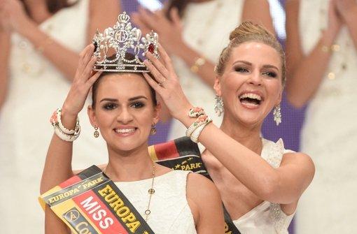 """Lena Bröder aus Nordwalde bei Münster ist die neue """"Miss Germany"""". Foto: dpa"""