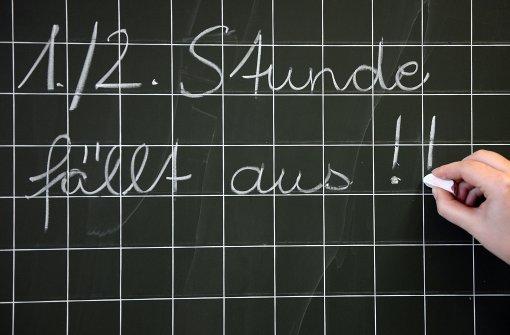 Wegen Lehrermangel fallen Schulstunden aus