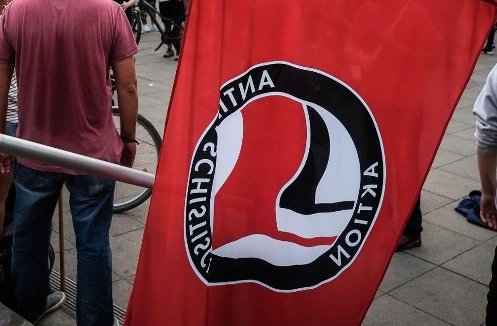 Demonstration in Albstadt - Auseinandersetzung mit Polizei bei Protesten gegen AfD-Veranstaltung - Stuttgarter Nachrichten