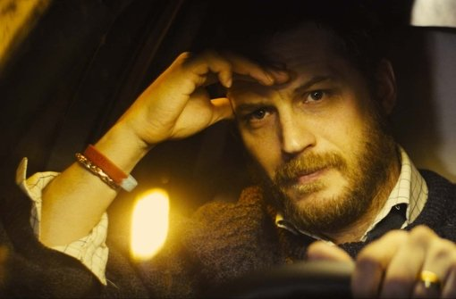 Ivan Locke (Tom Hardy) hat via Fernsprechanlage einige Probleme zu bewältigen Foto: Verleih