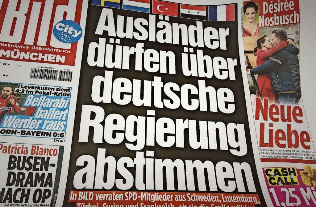 Kurswechsel Bei Der Bild Zeitung Schluss Mit Gemochtwerden