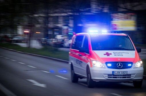 Betrunkene verursacht Unfall mit Rettungswagen