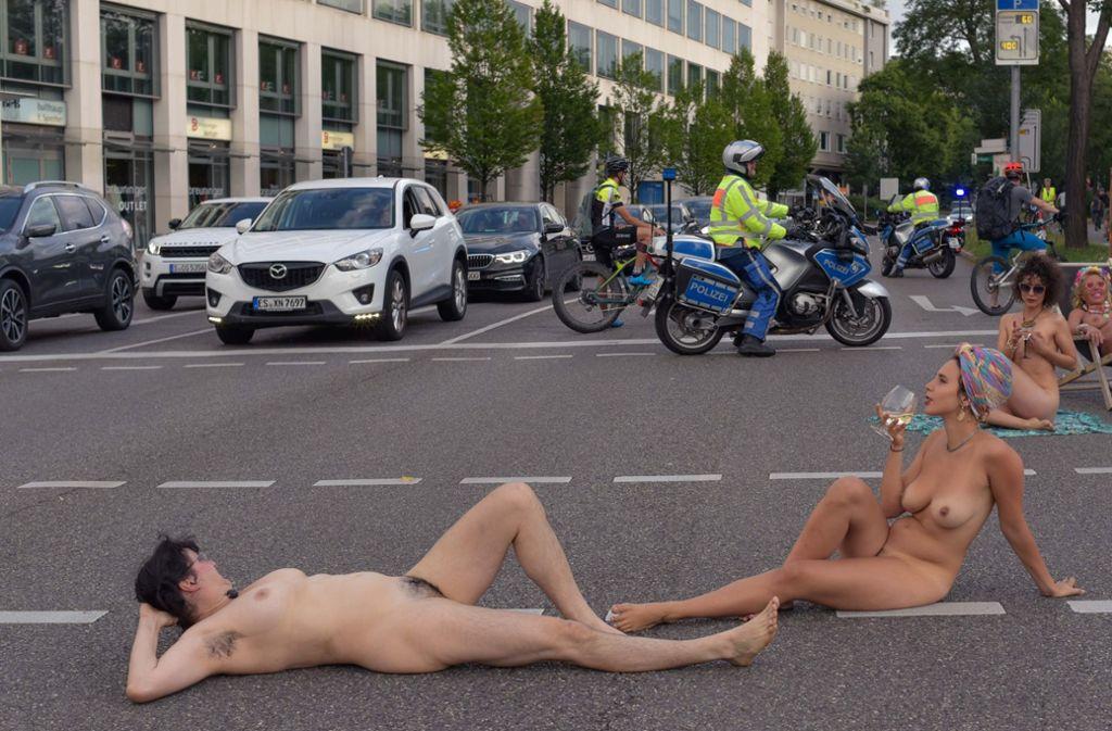 Stuttgart nackt