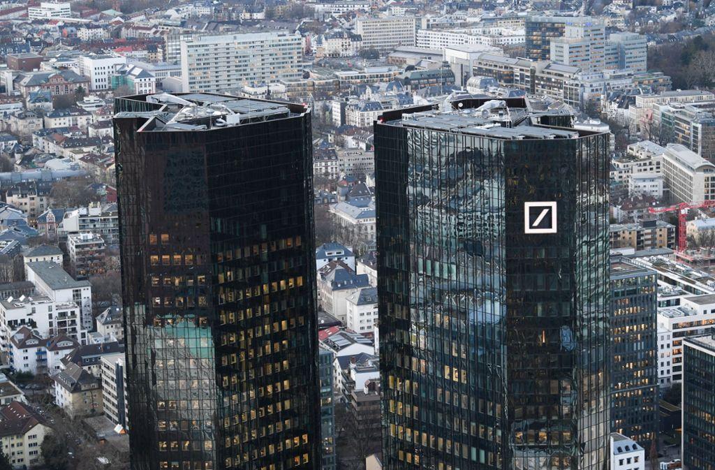 Umbau Abgeschlossen Deutsche Bank Wirbt Um Firmenkunden Wirtschaft Stuttgarter Nachrichten