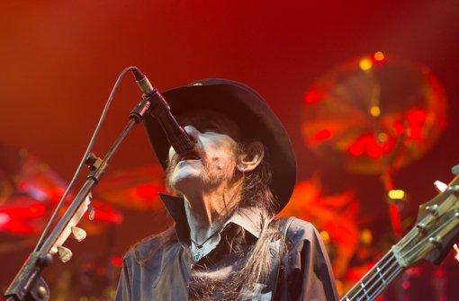 Motörhead-Frontmann Lemmy Kilmister Foto:
