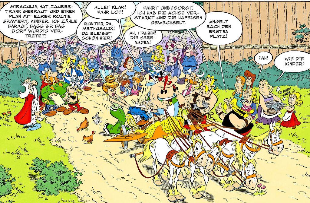 asterix in italien das 37 abenteuer ist da obelix. Black Bedroom Furniture Sets. Home Design Ideas
