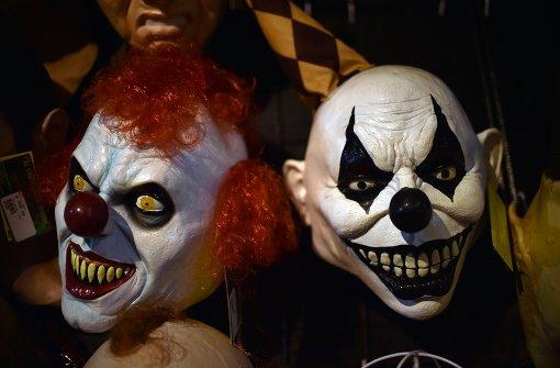Horror-Clowns verbreiten Angst und Schrecken im Südwesten