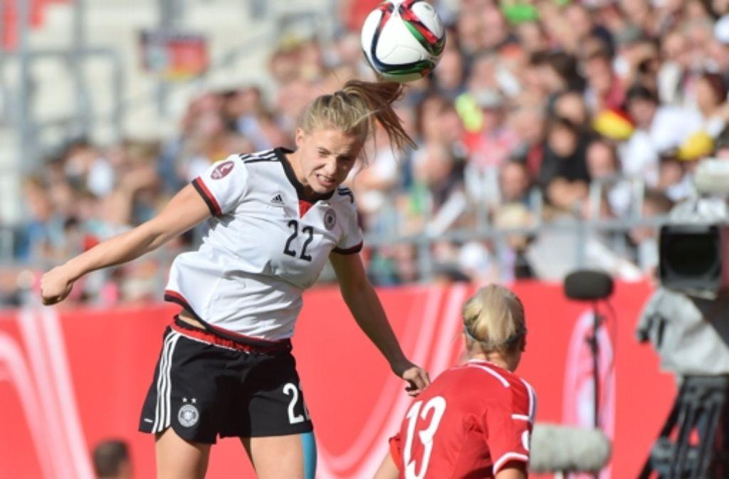 Gegen Ungarn Deutschlands Fussball Frauen Siegen 12 0