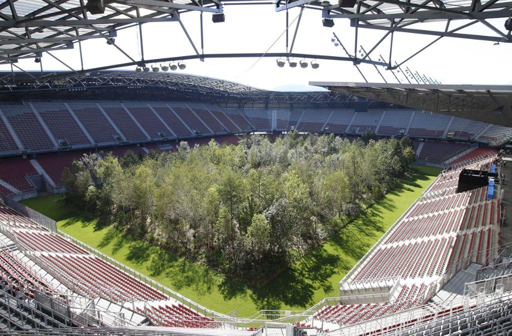Stadion In Klagenfurt Osterreicher Verwandeln Fussballrasen