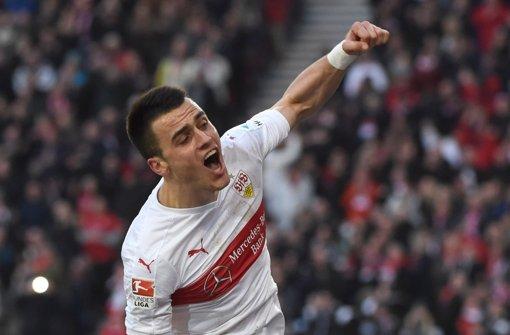 VfB-Flügelstürmer Filip Kostic Foto: dpa