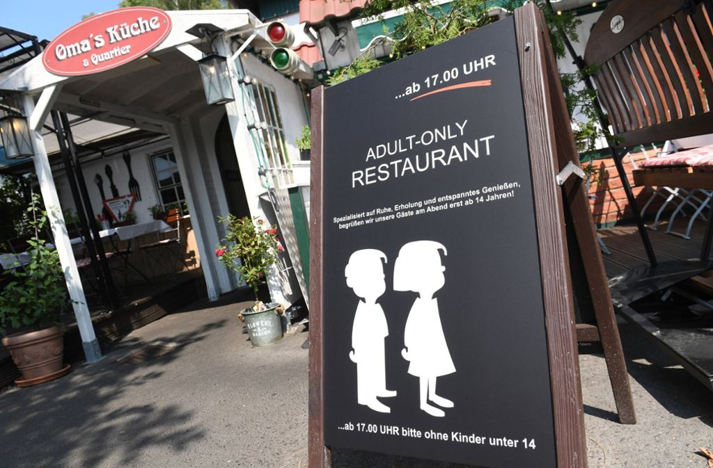 """Restaurant auf Rügen: Kinder dürfen abends nicht mehr in """"Omas Küche ..."""