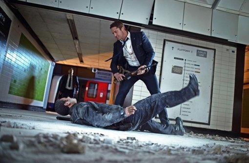 """Bloß nicht zimperlich sein: Gerard Butler in """"London Has Fallen"""" Foto: Universum"""