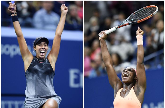US Open in New York: Madison Keys und Sloane Stephens im Finale