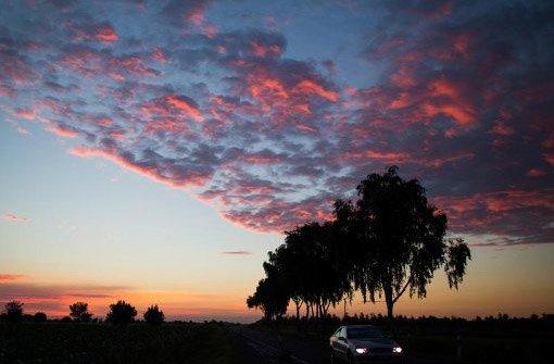 Sonne und Wolken bringt der Tag heute in Stuttgart und der Region. Foto: dpa