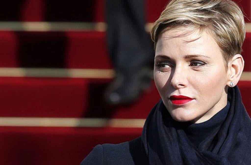 Charlene Von Monaco Die Furstin Etabliert Den Royalen Undercut