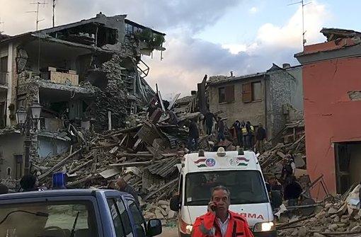 Mindestens zwei Tote bei Erdbeben in Italien