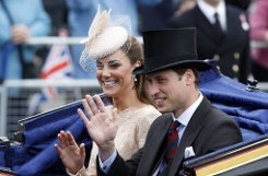 Die Windsors waren 2012 very amused