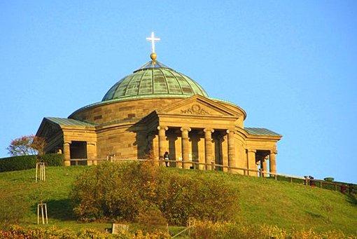 Platz 2 geht an die Grabkapelle. Foto: Leserfotograf sonnenblume