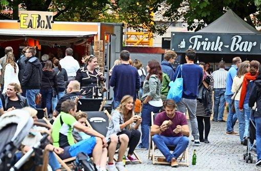Kommen Food-Trucks auf den Bismarckplatz?