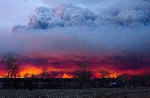 Alberta erklärt Notstand vor Ölstadt