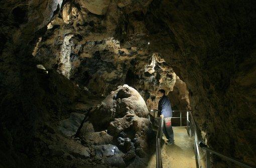 Sontheimer Höhle ist gesperrt worden