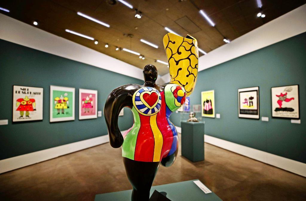Niki De Saint Phalle Und Jean Tinguely In Waiblingen Bonnie