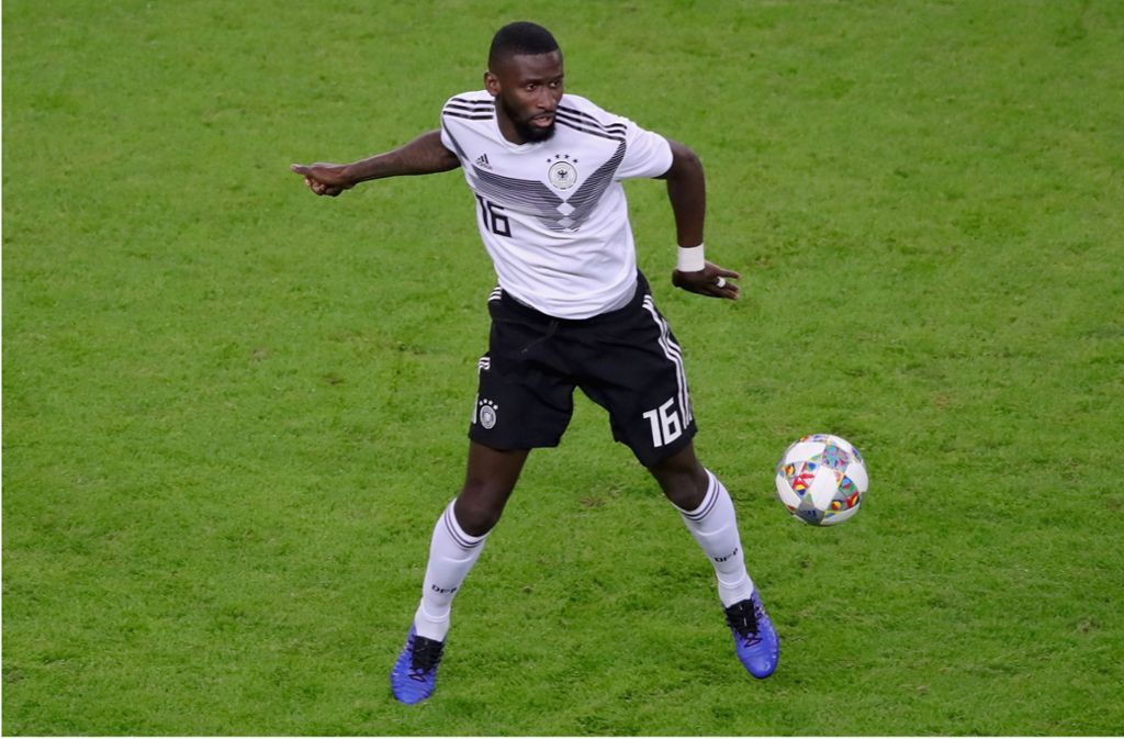 Antonio Rüdiger im DFB-Dress. Foto: Bongarts