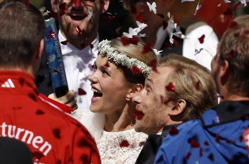 Samuel Koch heiratet in seinem Heimatort