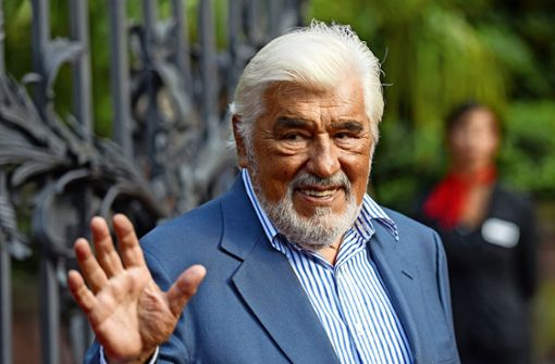 Mario Adorf kommt leider nicht nach Ludwigsburg. Foto: dpa/ Andreas Arnold/Andreas Arnold
