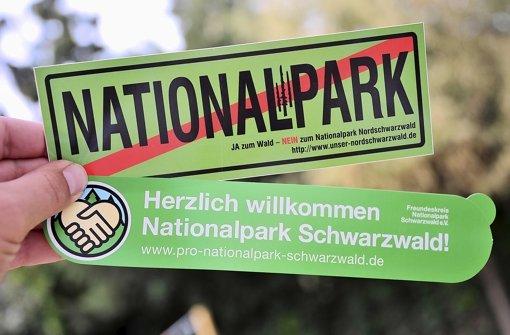 Pro oder contra? Im Nordschwarzwald liefern sich Gegner und Befürworter des Nationalparks einen heißen Kampf um die Meinungsführerschaft. Foto: dpa