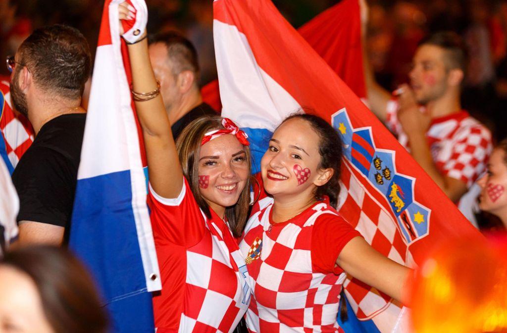 Spiel Kroatien England