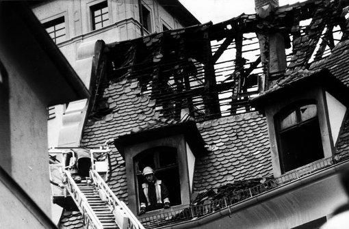 Durch den Brand im Jahr 1994 wurde das Gebäude stark beschädigt. Foto: Kraufmann