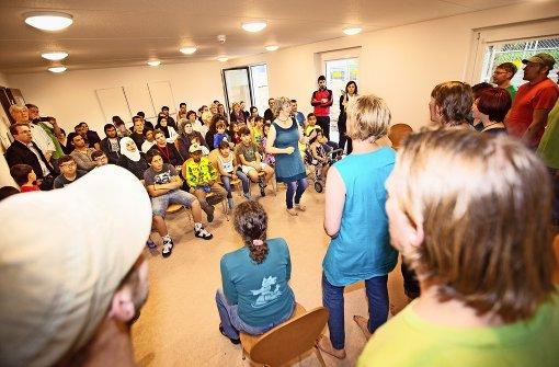 Wendland-Hymnen im Botnanger Flüchtlingsheim
