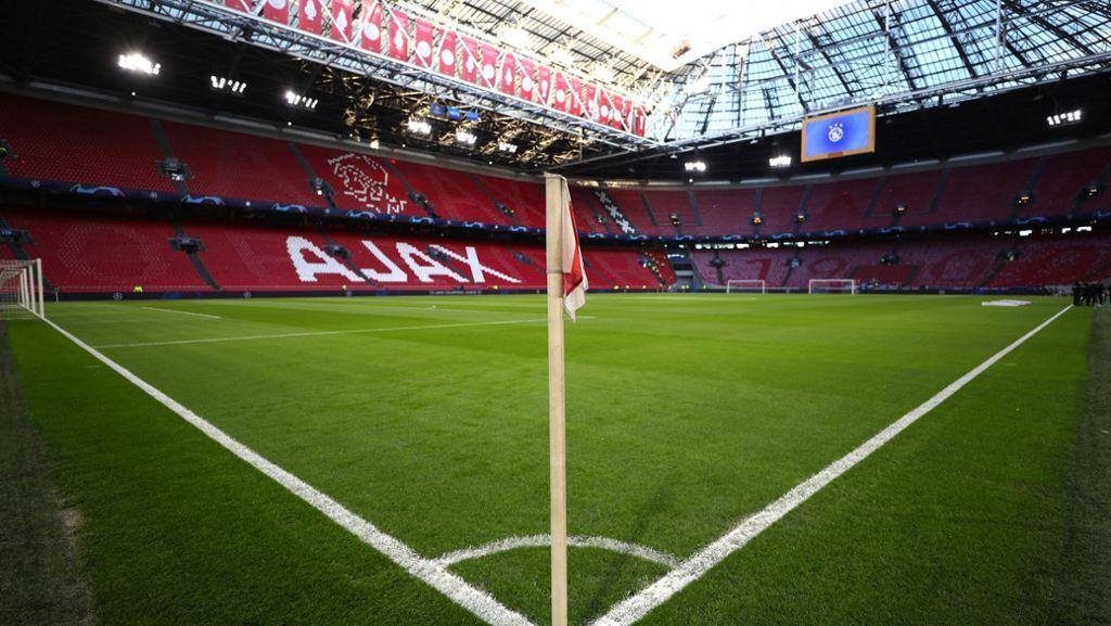 Champions League: Dutzende Juve Anhänger in Amsterdam