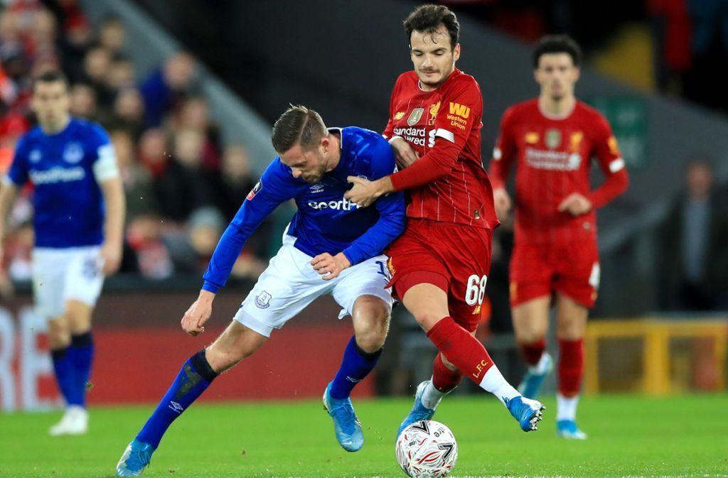 FA-Cup: Liverpool gewinnt mit Nathaniel Phillips gegen Everton mit 1:0