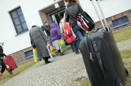 Die Landeshauptstadt will weitere Unterkünfte für Flüchtlinge bauen, bestehende Standorte sollen erweitert werden Foto: dpa-Zentralbild