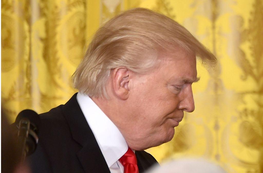 Spott Im Netz Uber Trumps Haarschnitt Donald Du Hast Die Haare