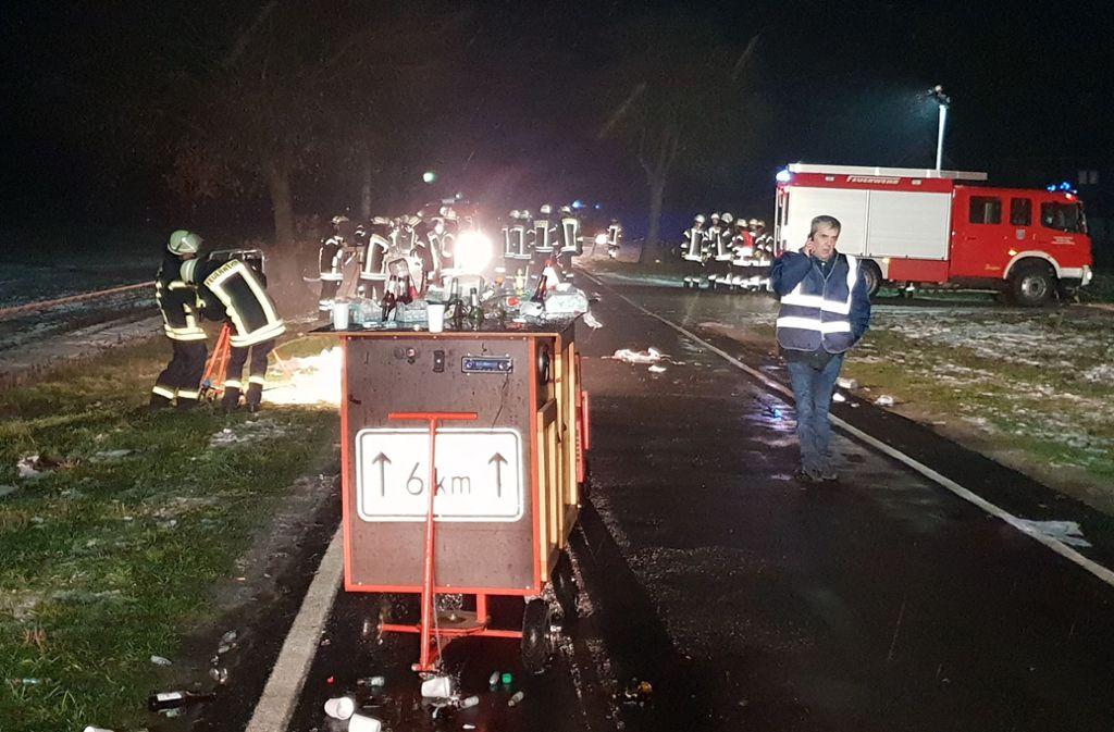 Vier Schwerverletzte In Niedersachsen Autofahrer übersieht