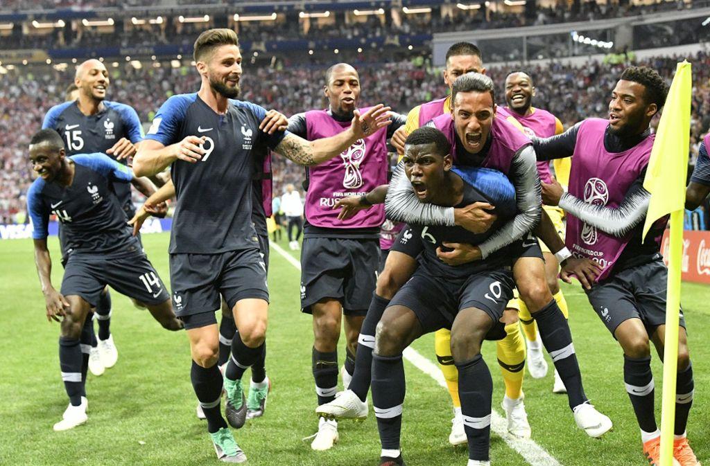 Wm Finale 2018 Denkwurdiges Finale Gegen Kroatien