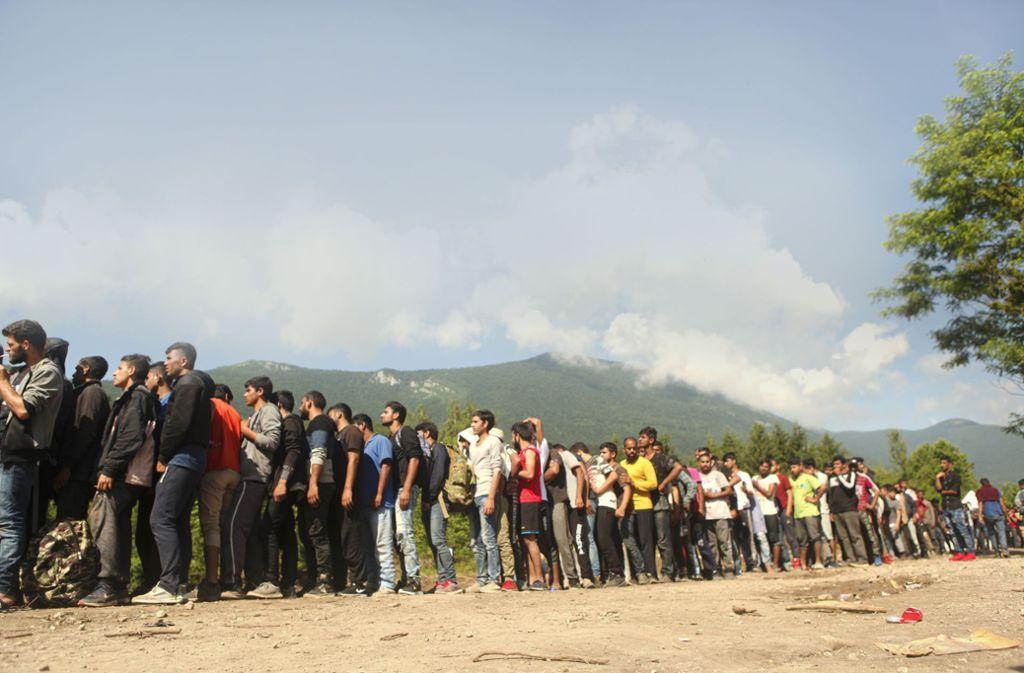 Bihac Flüchtlinge