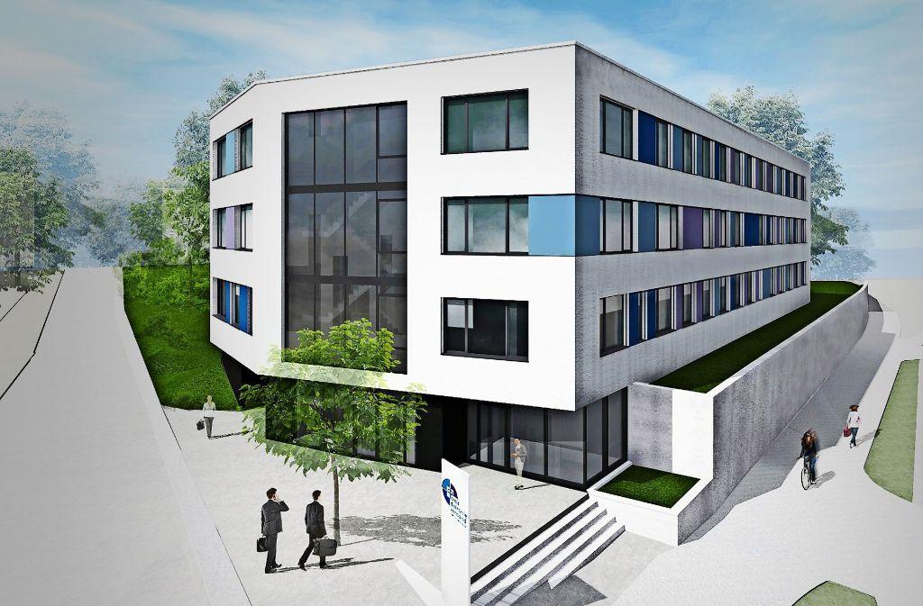Neubau des kreisdiakonieverbands in waiblingen alle fachdienste unter einem dach rems murr - Architekten kreis ludwigsburg ...