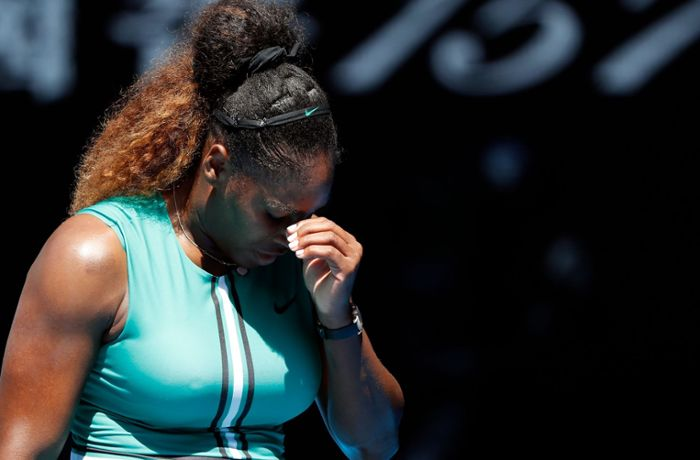 Australian Open: Matchball-Drama um Serena Williams