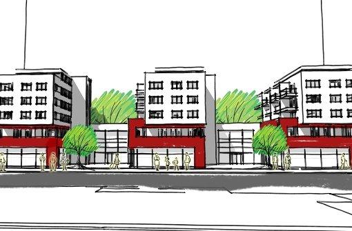Wohn- und Geschäftshaus soll Ort beleben