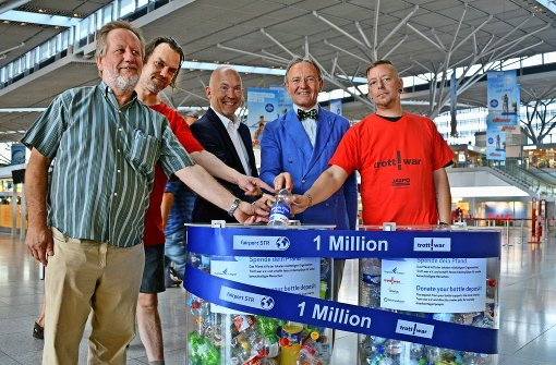 Am Flughafen arbeiten Pfandflaschenmillionäre