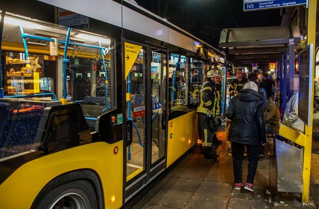 Der Unfall ereignete sich in Stuttgart Ost. Stuttgarter
