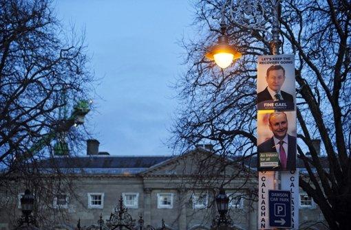 Irland hat seit der Parlamentswahl Ende  Februar noch keine neue Regierung. Foto: DPA