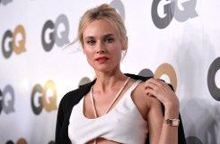 Hollywoodstar Diane Kruger hatte sich im Februar 2011 für das GQ-Magazin fast hüllenlos ablichten lassen, auf der Men of the Year Party ... Foto: AP