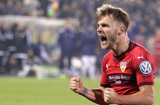 Will es wissen: VfB-Spielmacher Alexandru Maxim Foto: Getty